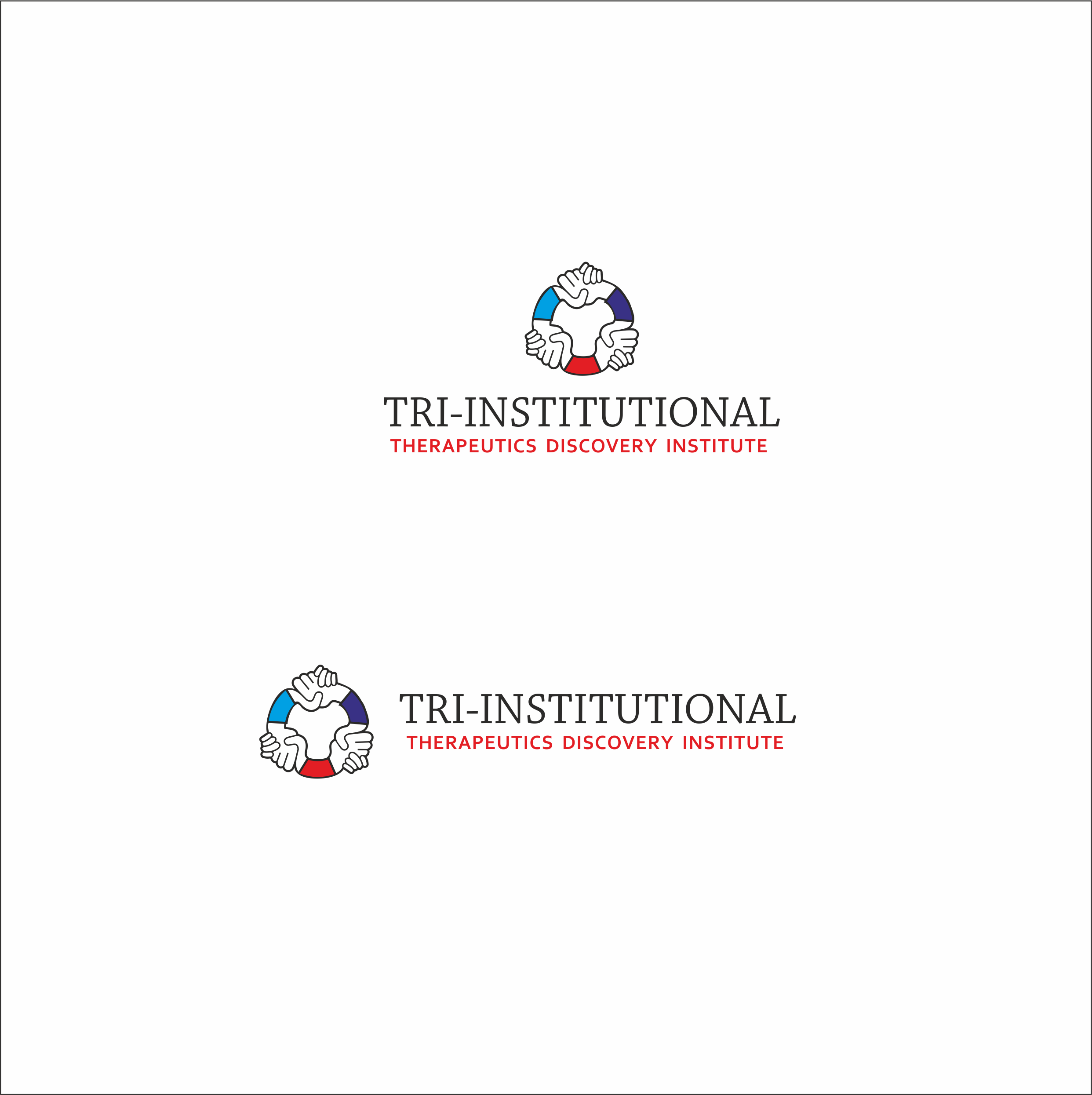 Logo Design by Galina Spirina - Entry No. 248 in the Logo Design Contest Inspiring Logo Design for Tri-Institutional Therapeutics Discovery Institute.
