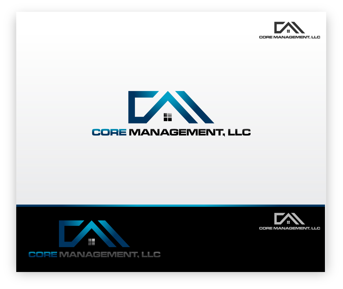 Logo Design by zoiDesign - Entry No. 28 in the Logo Design Contest Creative Logo Design for CORE Management, LLC.