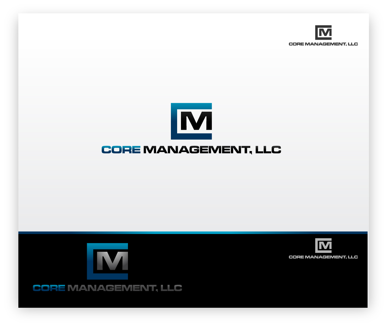 Logo Design by zoiDesign - Entry No. 29 in the Logo Design Contest Creative Logo Design for CORE Management, LLC.