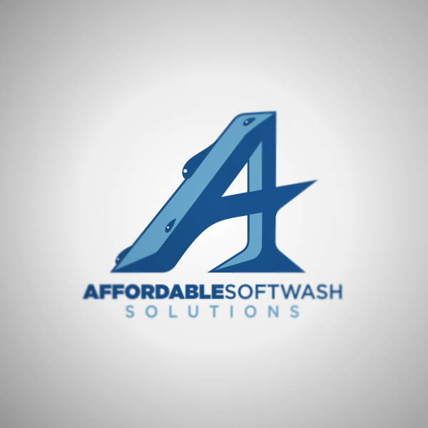 Logo Design by Private User - Entry No. 19 in the Logo Design Contest Imaginative Logo Design for Affordable SoftWash Solutions.