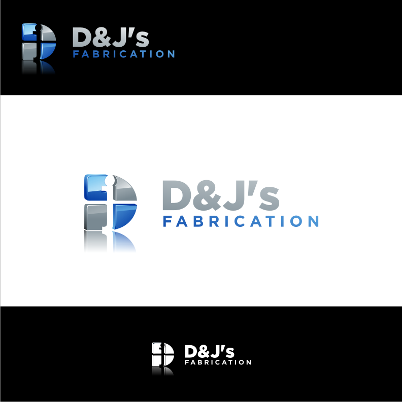 Logo Design by graphicleaf - Entry No. 27 in the Logo Design Contest Creative Logo Design for D & J's Precision Machine Services.
