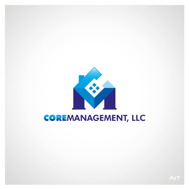 Logo Design by Puspita Wahyuni - Entry No. 30 in the Logo Design Contest Creative Logo Design for CORE Management, LLC.