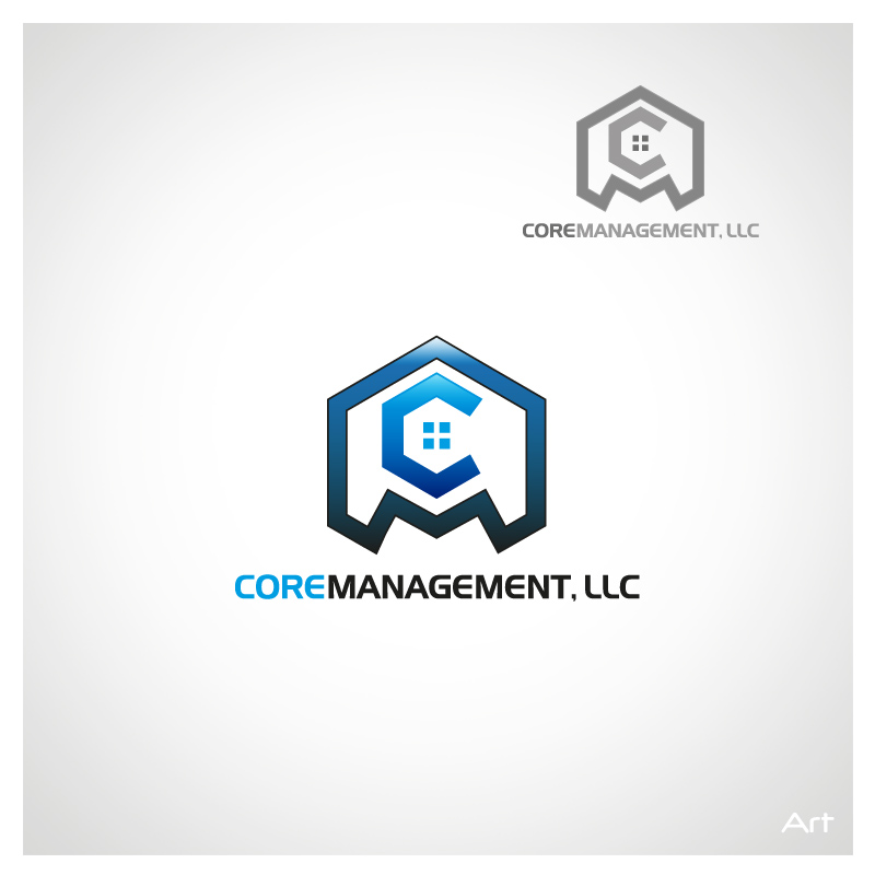 Logo Design by Puspita Wahyuni - Entry No. 32 in the Logo Design Contest Creative Logo Design for CORE Management, LLC.