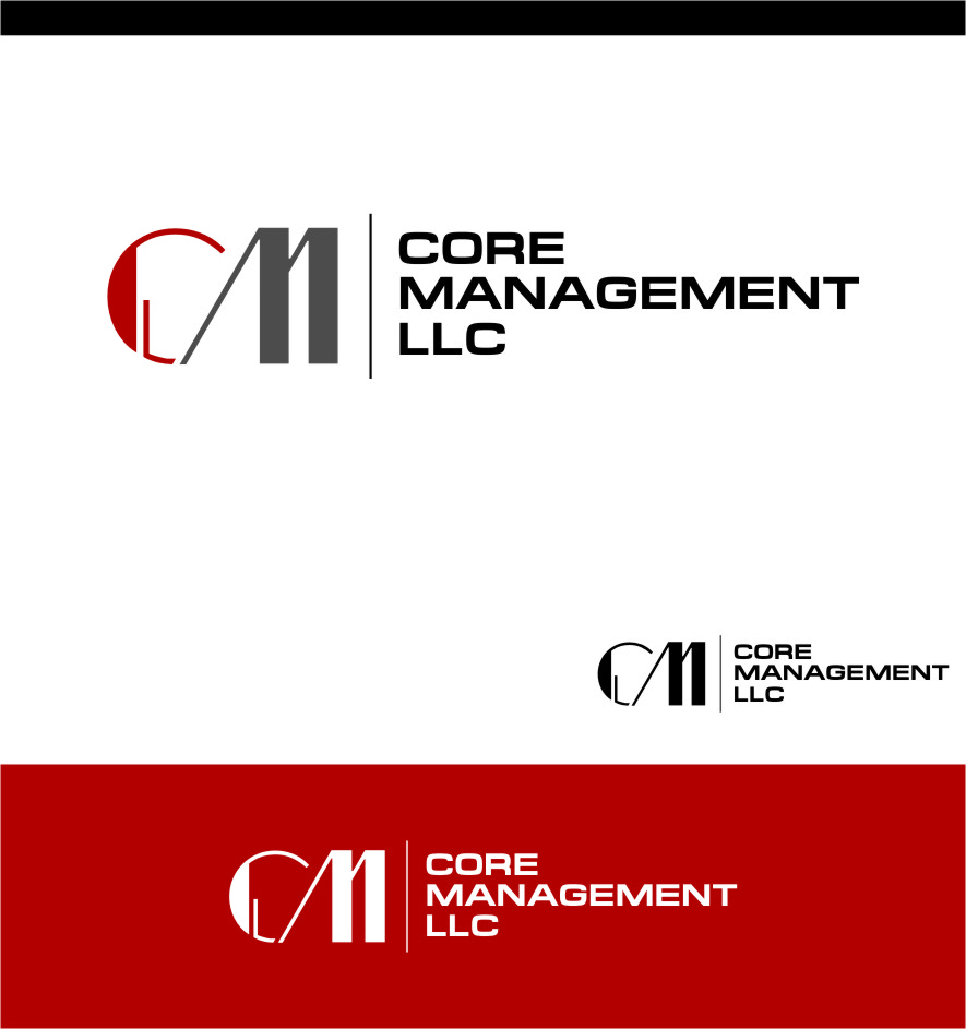 Logo Design by Ngepet_art - Entry No. 37 in the Logo Design Contest Creative Logo Design for CORE Management, LLC.