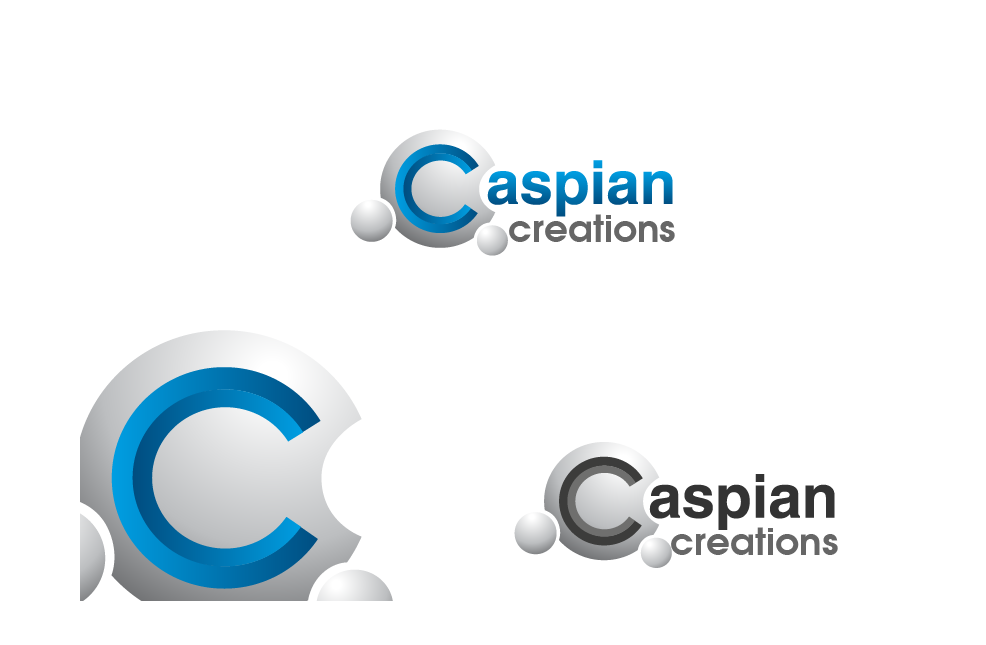 Logo Design by brands_in - Entry No. 6 in the Logo Design Contest Creative Logo Design for Caspian Creations.