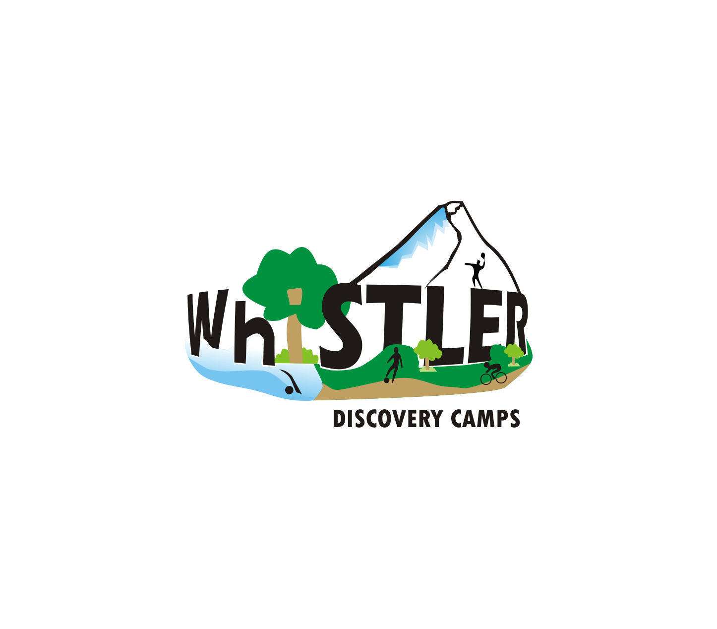Logo Design by Nthus Nthis - Entry No. 32 in the Logo Design Contest Captivating Logo Design for Whistler Discovery Camps.