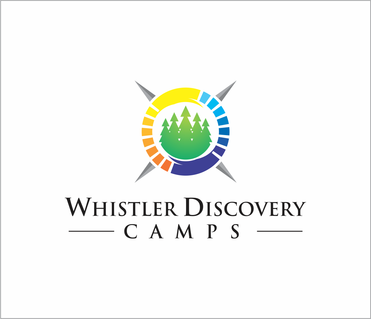 Logo Design by Armada Jamaluddin - Entry No. 33 in the Logo Design Contest Captivating Logo Design for Whistler Discovery Camps.