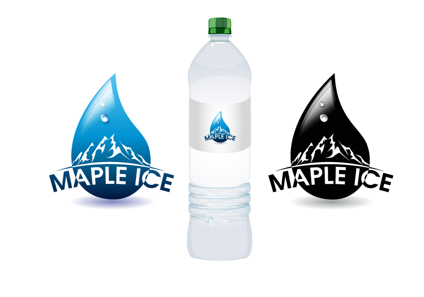 Packaging Design by Private User - Entry No. 28 in the Packaging Design Contest Unique Label/Packaging Design Wanted for Premium Bottled Water (Maple Ice).