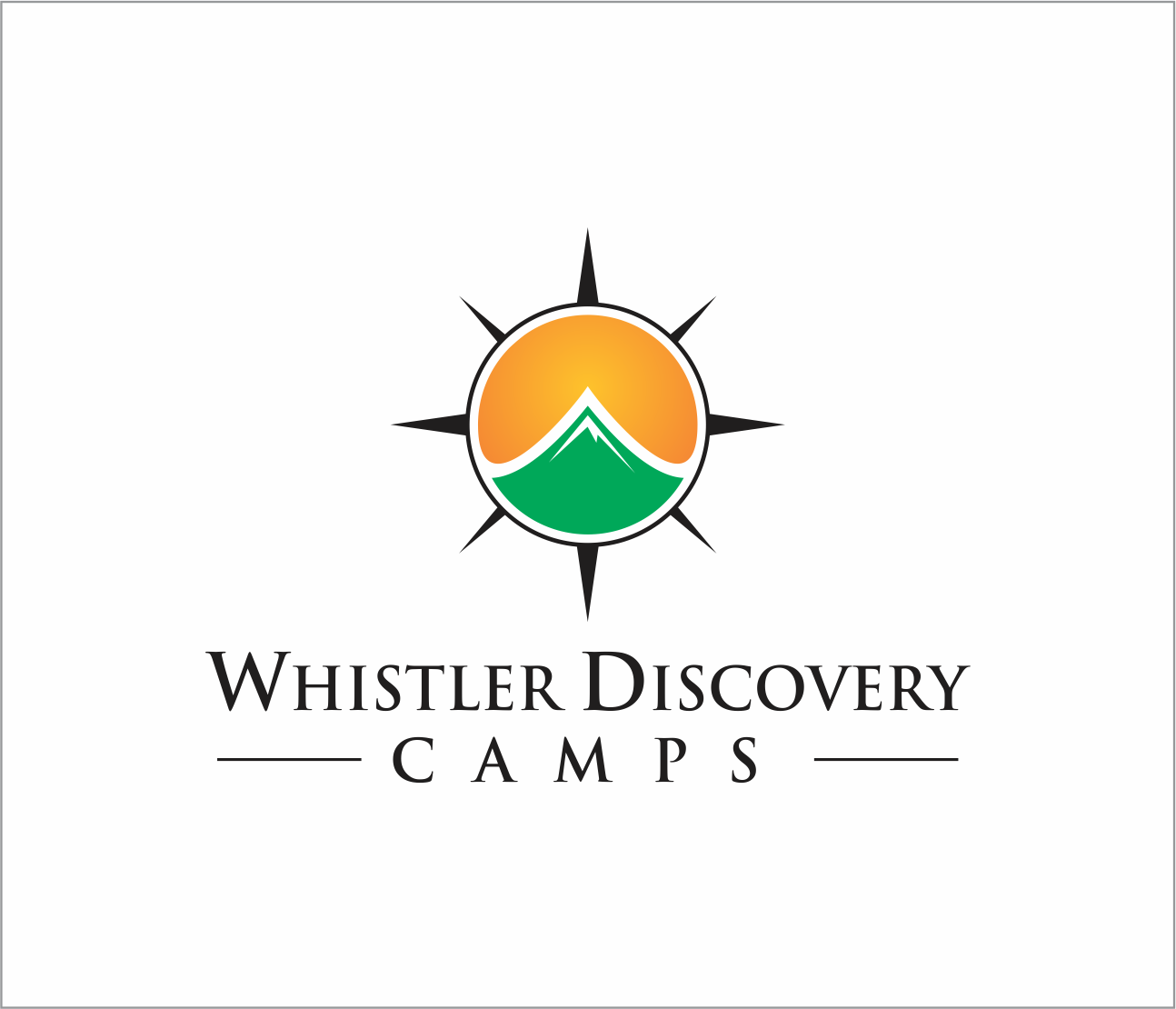 Logo Design by Armada Jamaluddin - Entry No. 34 in the Logo Design Contest Captivating Logo Design for Whistler Discovery Camps.