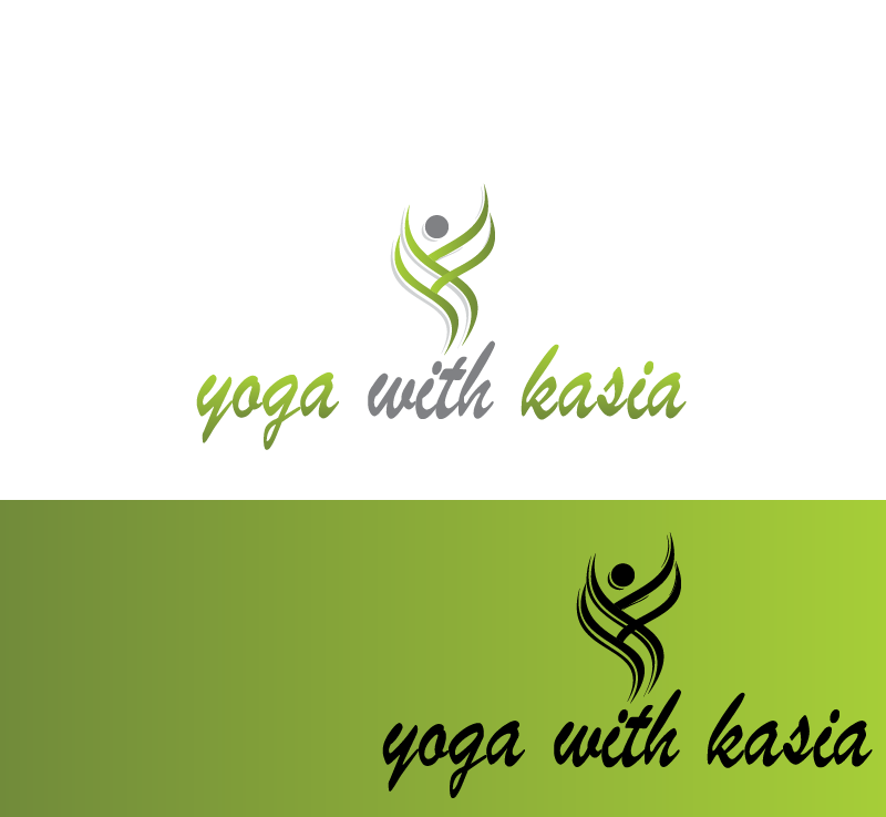 Logo Design by Private User - Entry No. 16 in the Logo Design Contest Artistic Logo Design for Yoga with Kasia.