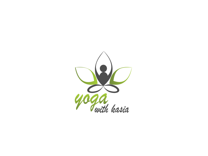 Logo Design by Private User - Entry No. 17 in the Logo Design Contest Artistic Logo Design for Yoga with Kasia.