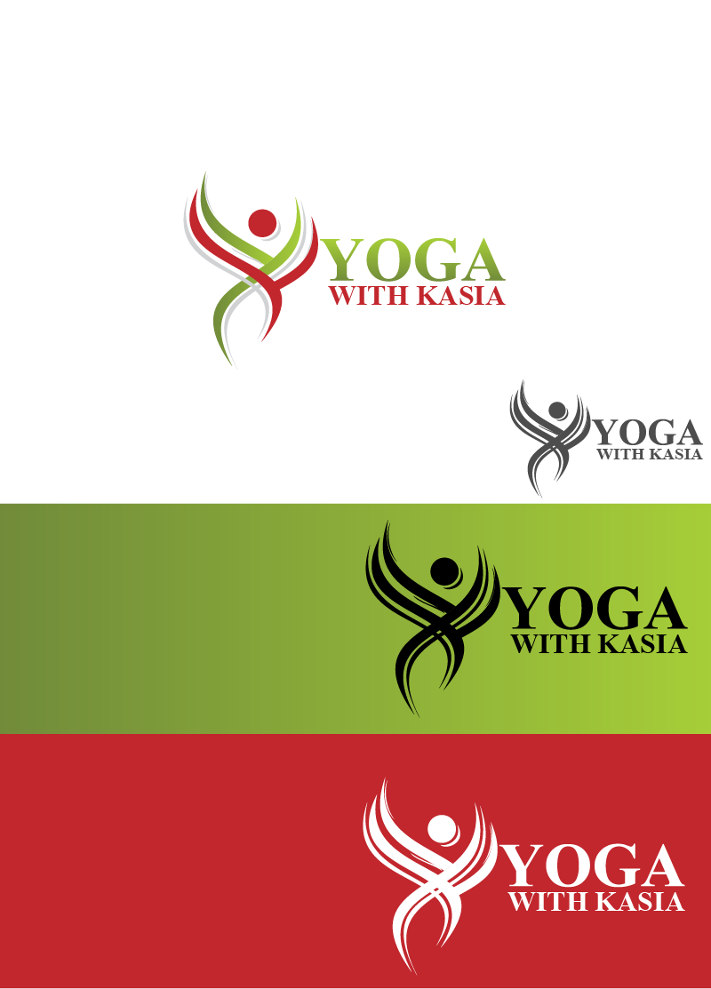 Logo Design by Private User - Entry No. 18 in the Logo Design Contest Artistic Logo Design for Yoga with Kasia.
