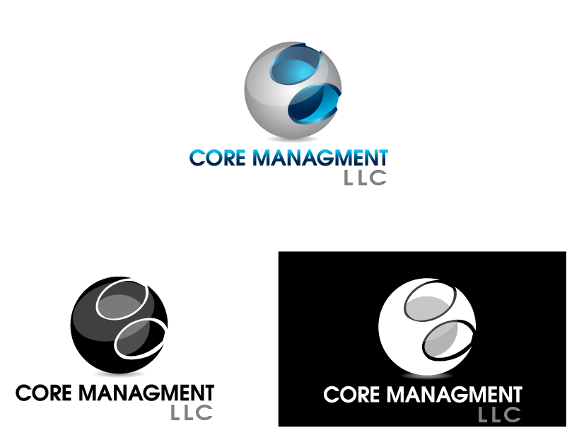 Logo Design by Private User - Entry No. 53 in the Logo Design Contest Creative Logo Design for CORE Management, LLC.