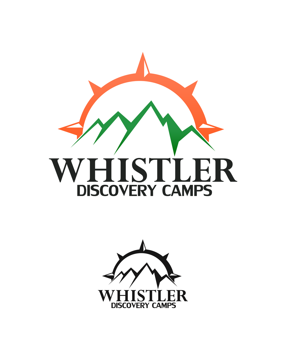 Logo Design by Private User - Entry No. 36 in the Logo Design Contest Captivating Logo Design for Whistler Discovery Camps.
