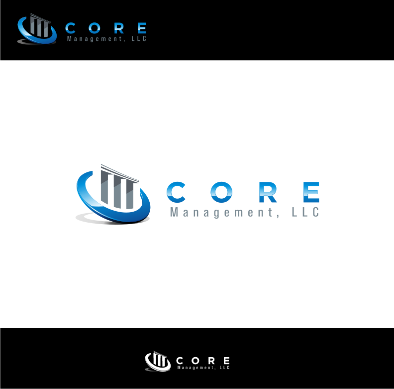 Logo Design by graphicleaf - Entry No. 58 in the Logo Design Contest Creative Logo Design for CORE Management, LLC.