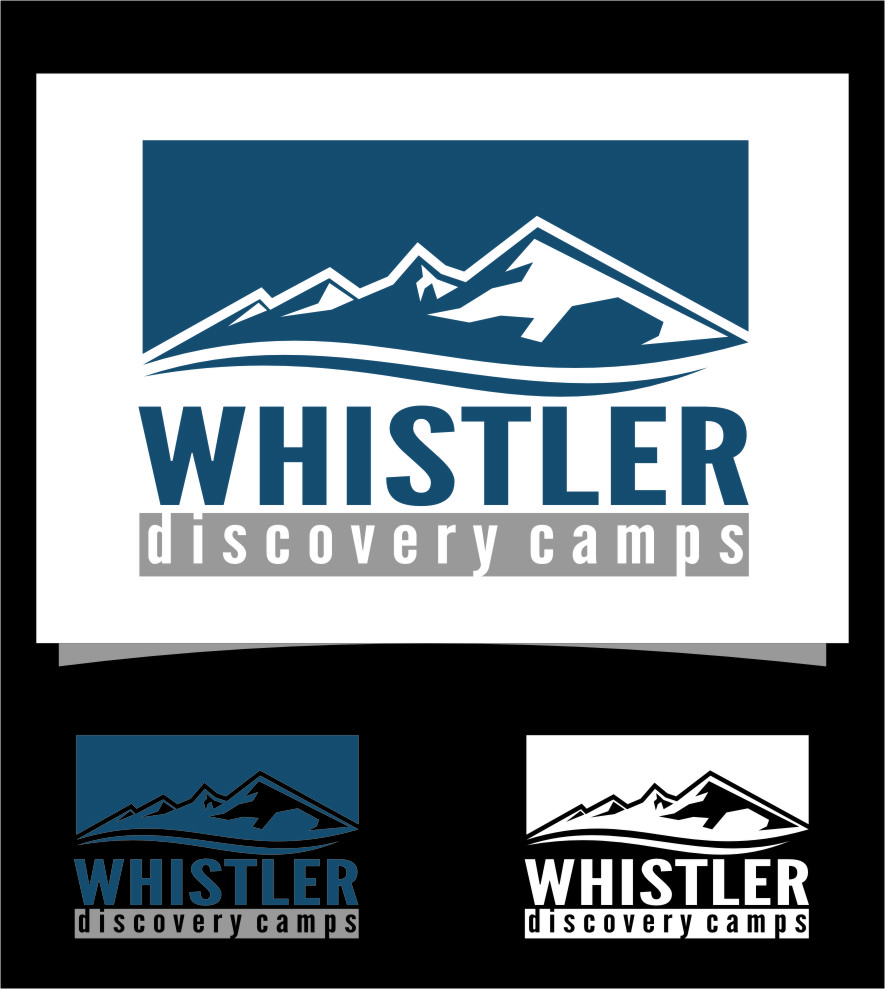 Logo Design by RasYa Muhammad Athaya - Entry No. 40 in the Logo Design Contest Captivating Logo Design for Whistler Discovery Camps.