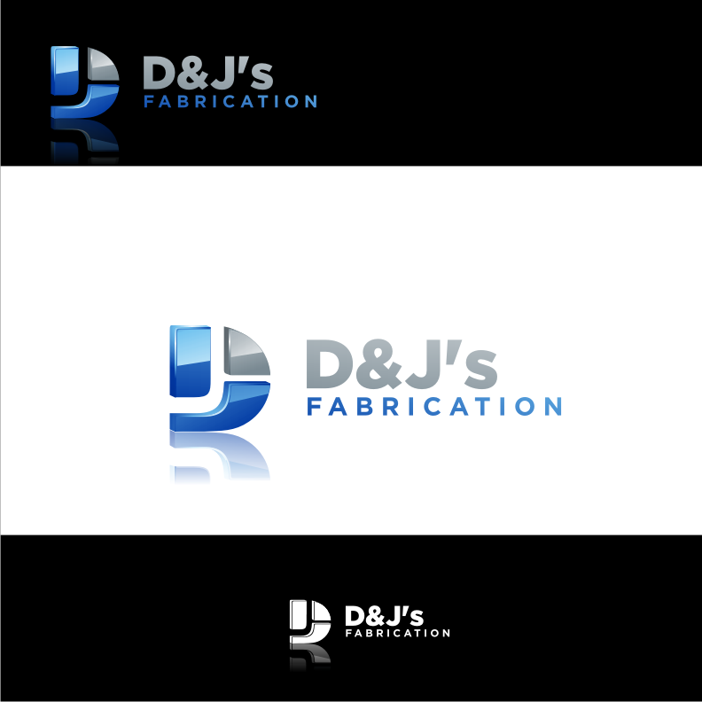 Logo Design by graphicleaf - Entry No. 34 in the Logo Design Contest Creative Logo Design for D & J's Precision Machine Services.