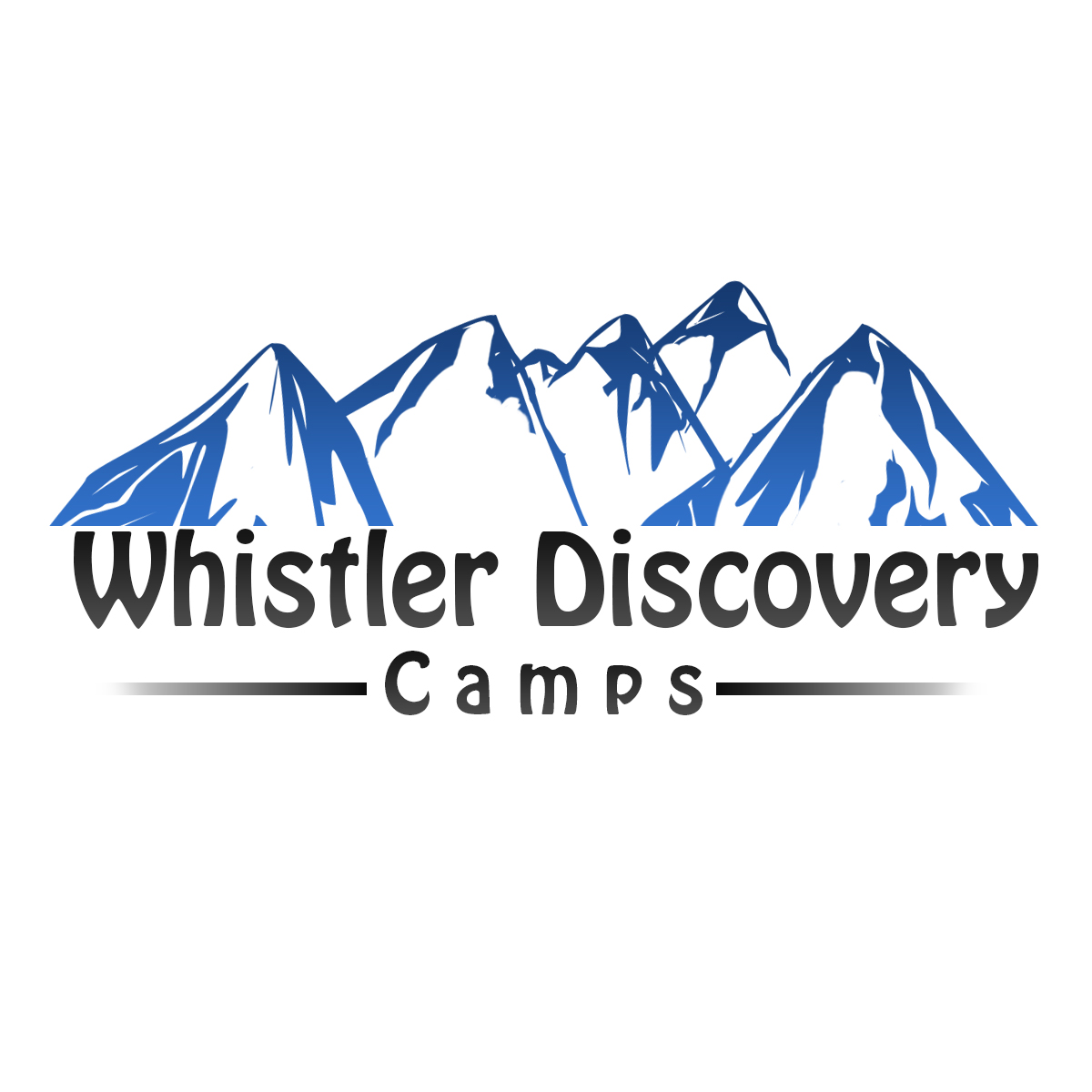 Logo Design by Viral Ramani - Entry No. 44 in the Logo Design Contest Captivating Logo Design for Whistler Discovery Camps.