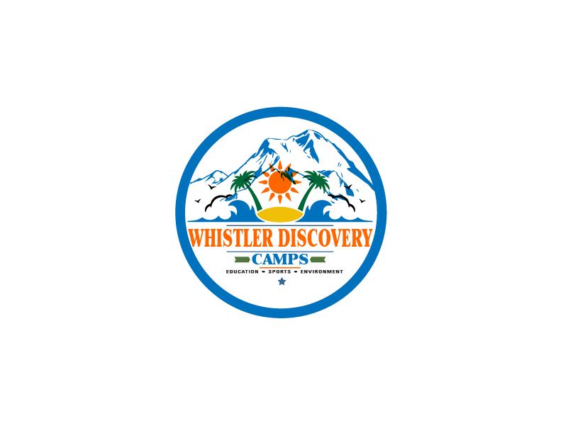 Logo Design by brands_in - Entry No. 46 in the Logo Design Contest Captivating Logo Design for Whistler Discovery Camps.