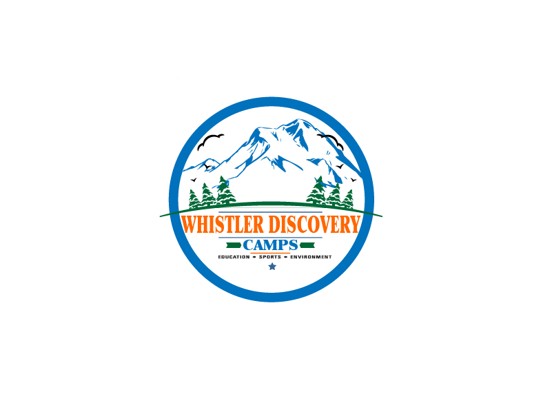 Logo Design by brands_in - Entry No. 47 in the Logo Design Contest Captivating Logo Design for Whistler Discovery Camps.