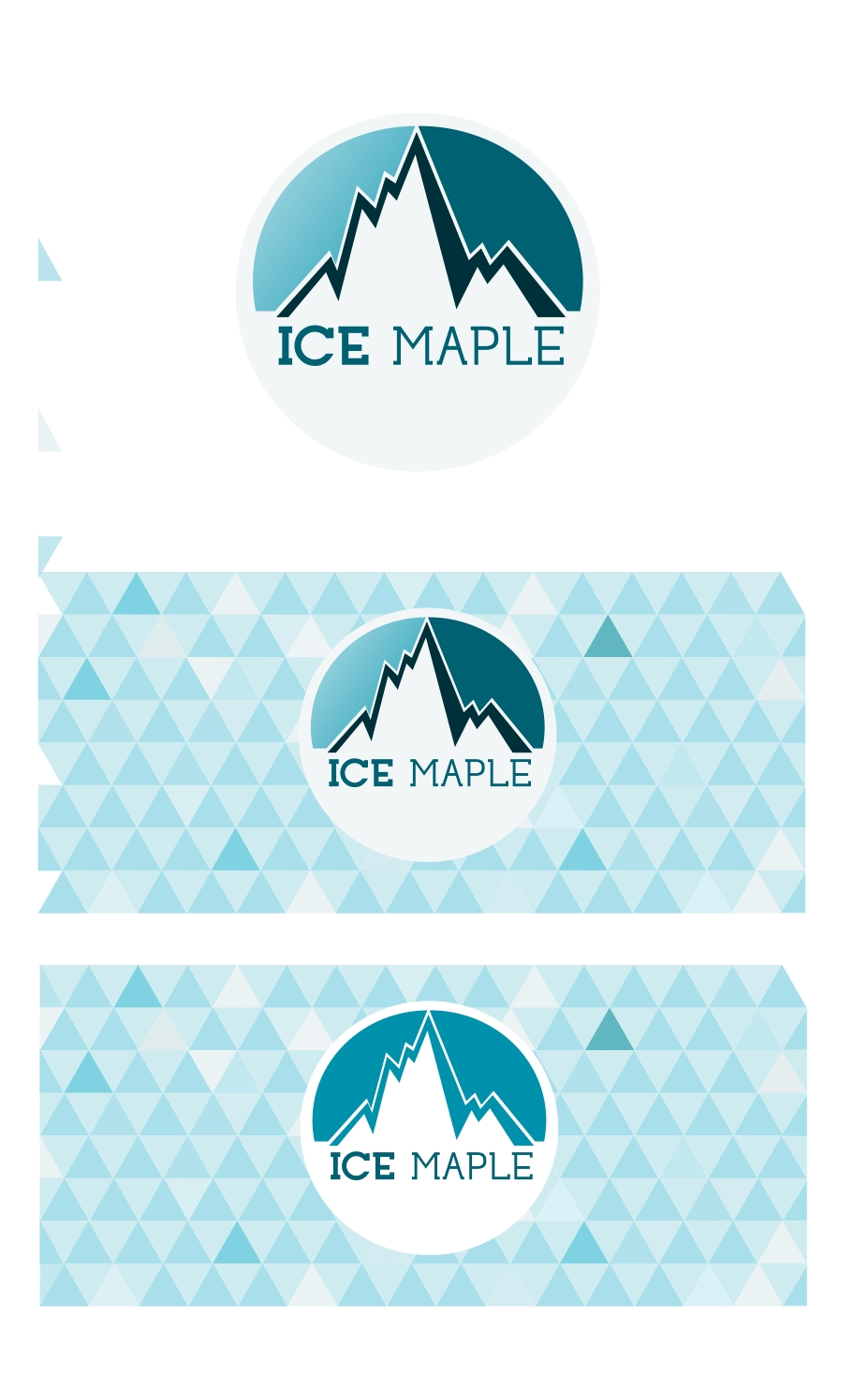 Packaging Design by Private User - Entry No. 31 in the Packaging Design Contest Unique Label/Packaging Design Wanted for Premium Bottled Water (Maple Ice).