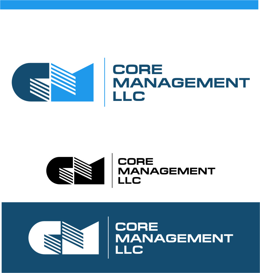 Logo Design by Ngepet_art - Entry No. 70 in the Logo Design Contest Creative Logo Design for CORE Management, LLC.