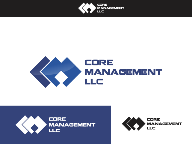 Logo Design by Rizwan Saeed - Entry No. 77 in the Logo Design Contest Creative Logo Design for CORE Management, LLC.