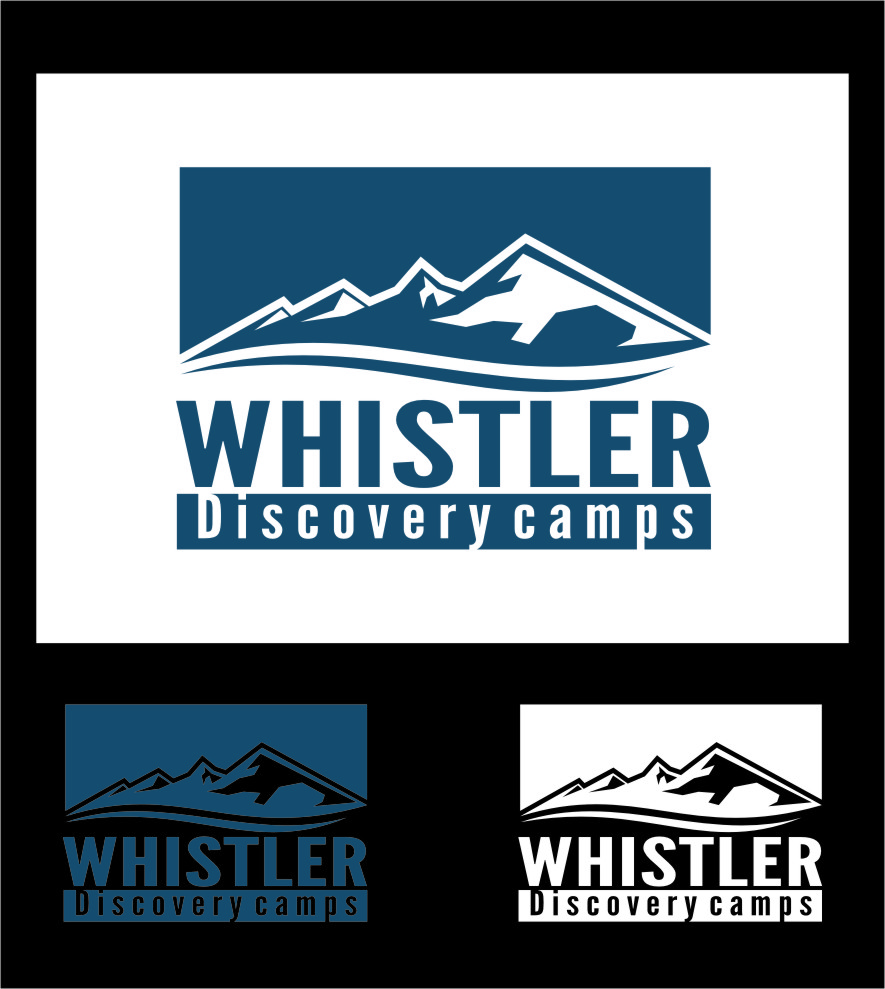 Logo Design by RasYa Muhammad Athaya - Entry No. 48 in the Logo Design Contest Captivating Logo Design for Whistler Discovery Camps.