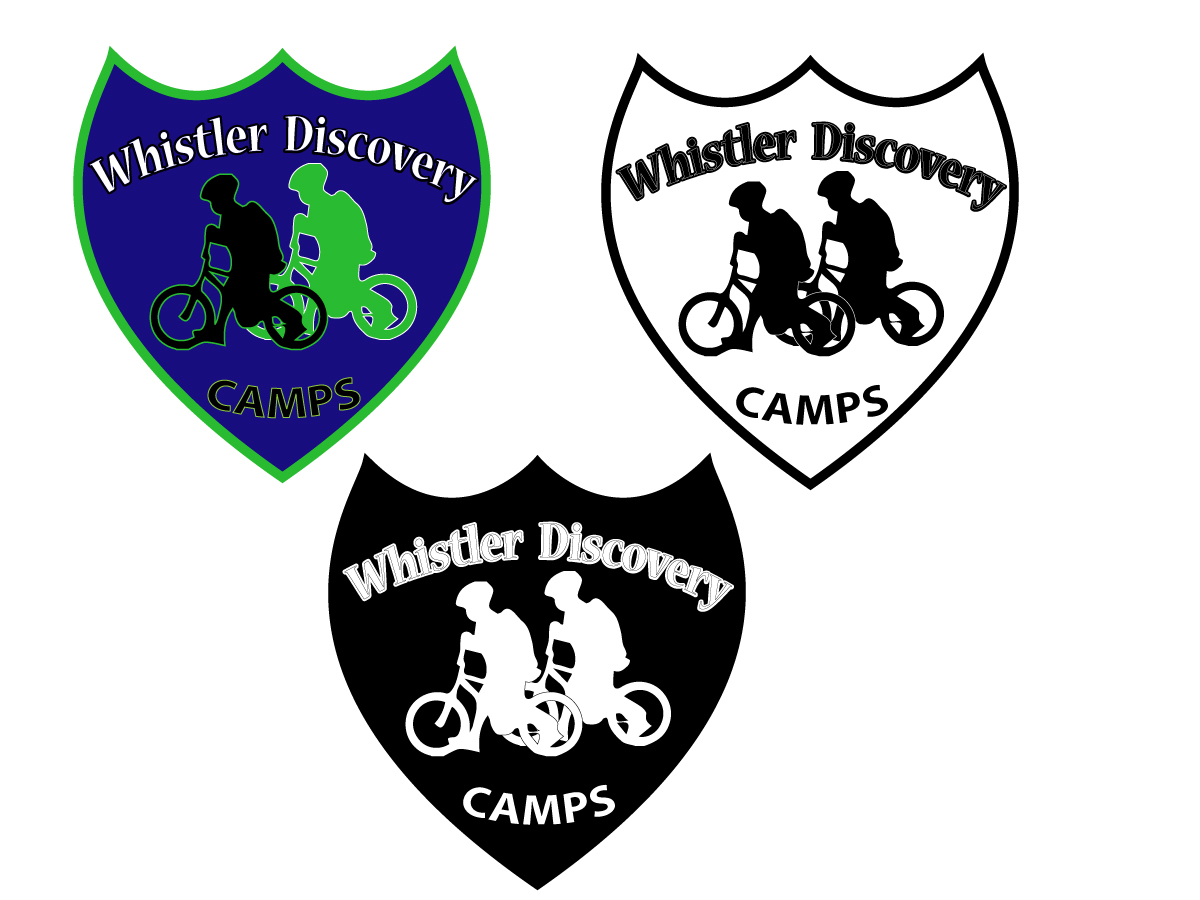 Logo Design by Ioana Marina Oaie - Entry No. 51 in the Logo Design Contest Captivating Logo Design for Whistler Discovery Camps.