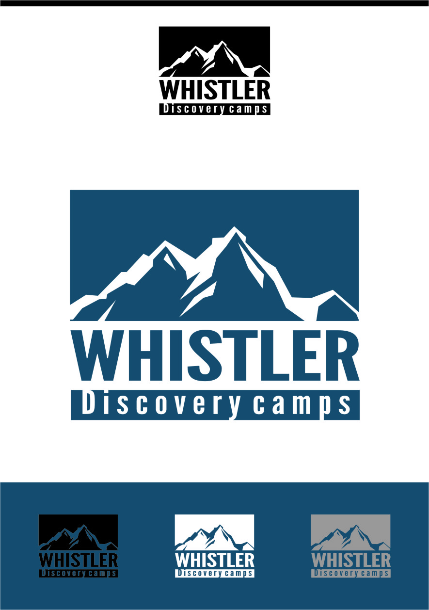 Logo Design by RasYa Muhammad Athaya - Entry No. 52 in the Logo Design Contest Captivating Logo Design for Whistler Discovery Camps.