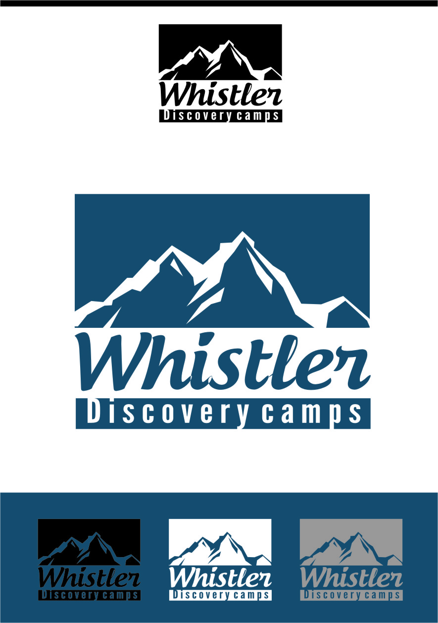 Logo Design by RasYa Muhammad Athaya - Entry No. 53 in the Logo Design Contest Captivating Logo Design for Whistler Discovery Camps.