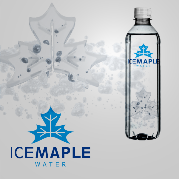 Packaging Design by Private User - Entry No. 40 in the Packaging Design Contest Unique Label/Packaging Design Wanted for Premium Bottled Water (Maple Ice).