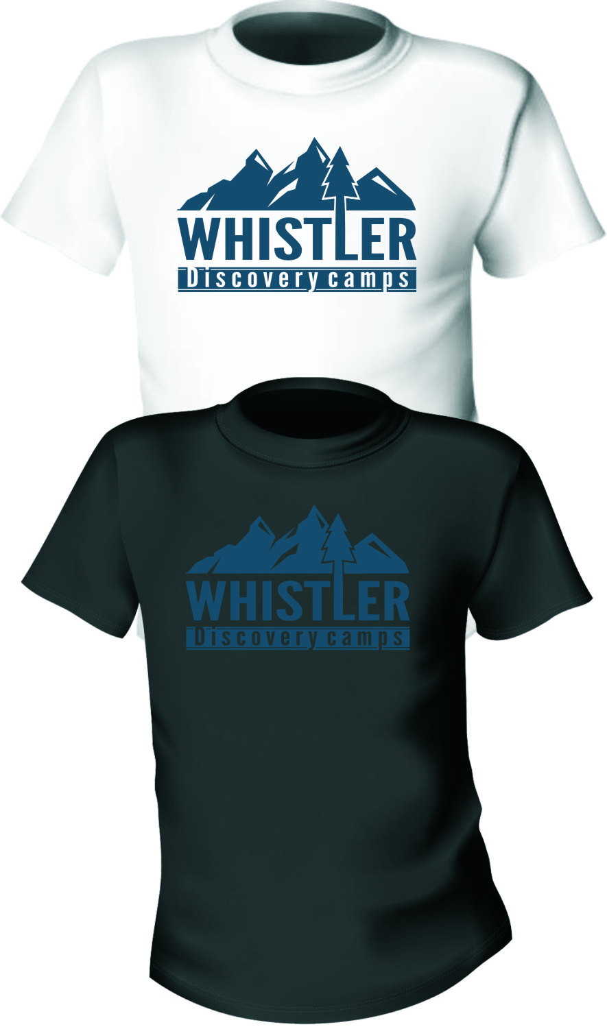 Logo Design by Ngepet_art - Entry No. 54 in the Logo Design Contest Captivating Logo Design for Whistler Discovery Camps.