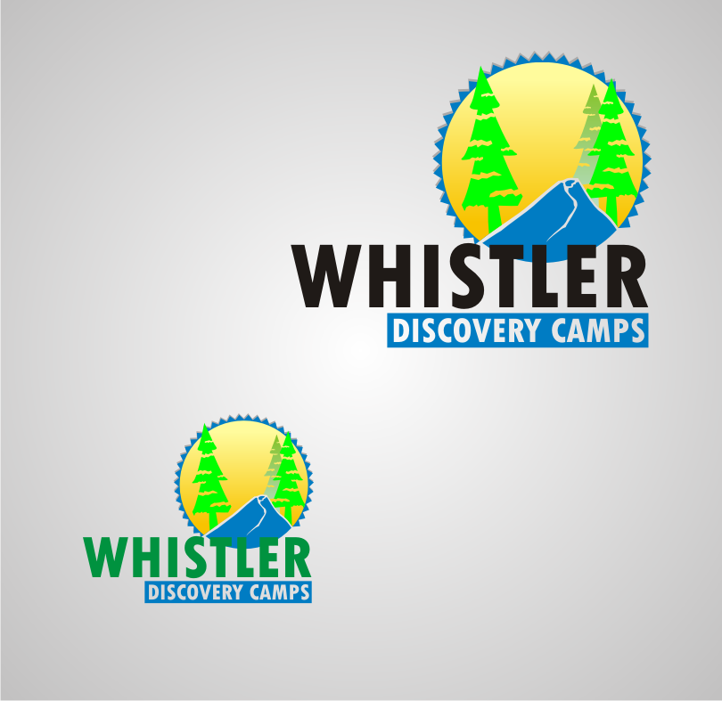 Logo Design by Nthus Nthis - Entry No. 57 in the Logo Design Contest Captivating Logo Design for Whistler Discovery Camps.