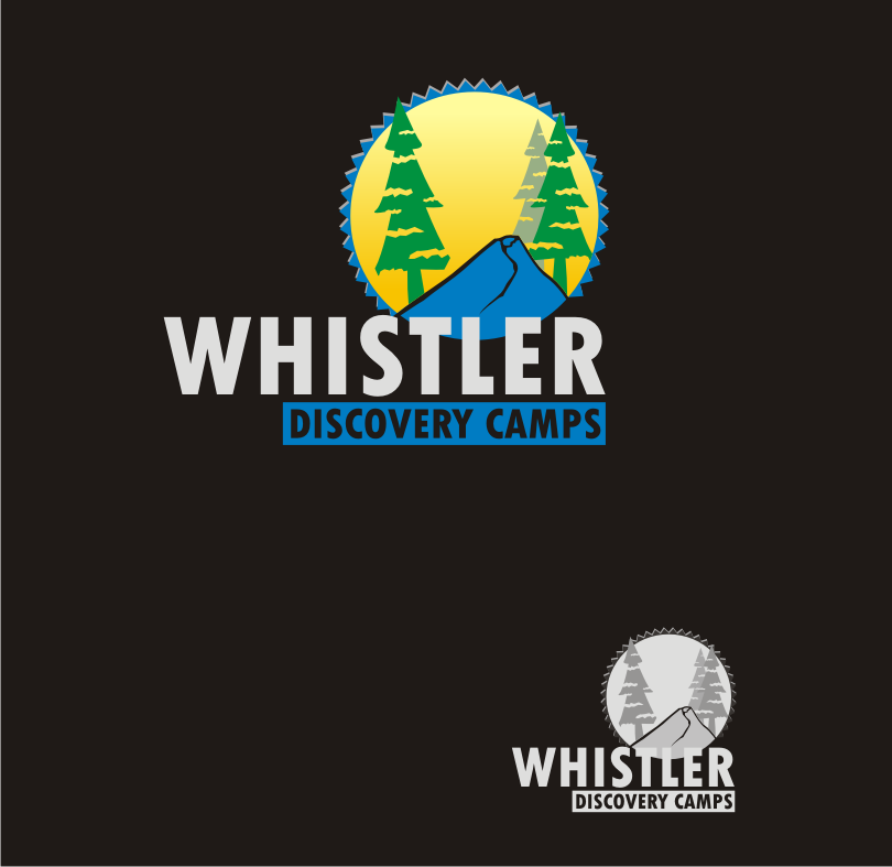 Logo Design by Nthus Nthis - Entry No. 58 in the Logo Design Contest Captivating Logo Design for Whistler Discovery Camps.