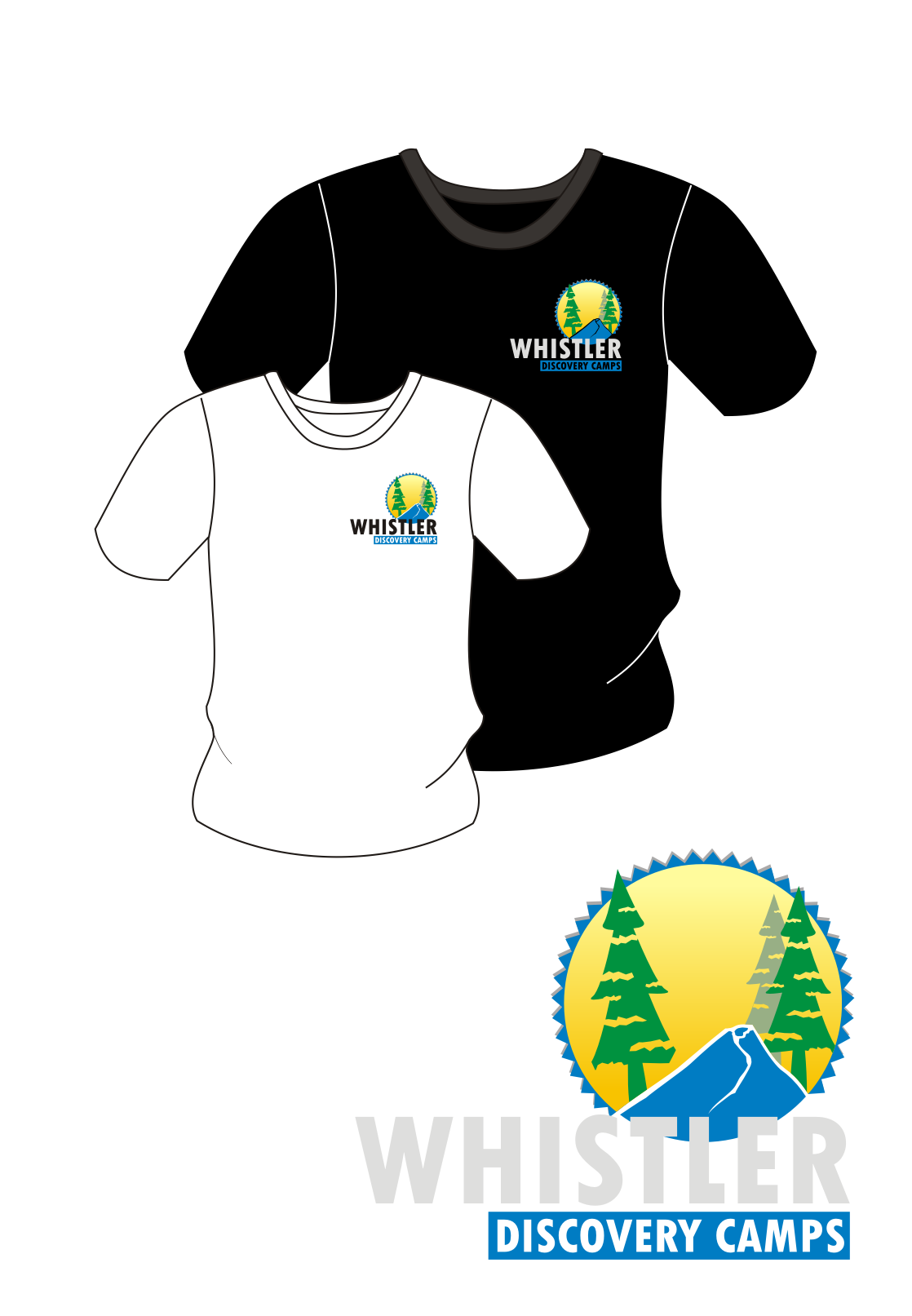 Logo Design by Nthus Nthis - Entry No. 59 in the Logo Design Contest Captivating Logo Design for Whistler Discovery Camps.