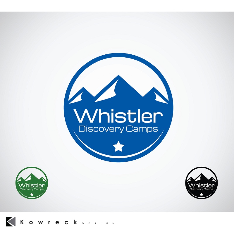 Logo Design by kowreck - Entry No. 60 in the Logo Design Contest Captivating Logo Design for Whistler Discovery Camps.