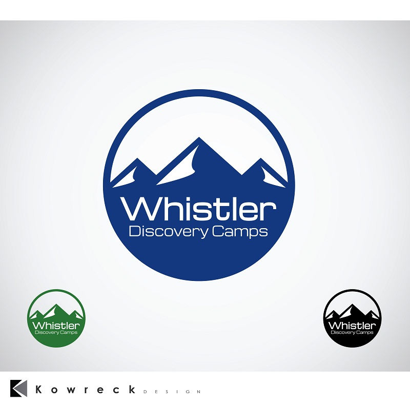 Logo Design by kowreck - Entry No. 61 in the Logo Design Contest Captivating Logo Design for Whistler Discovery Camps.