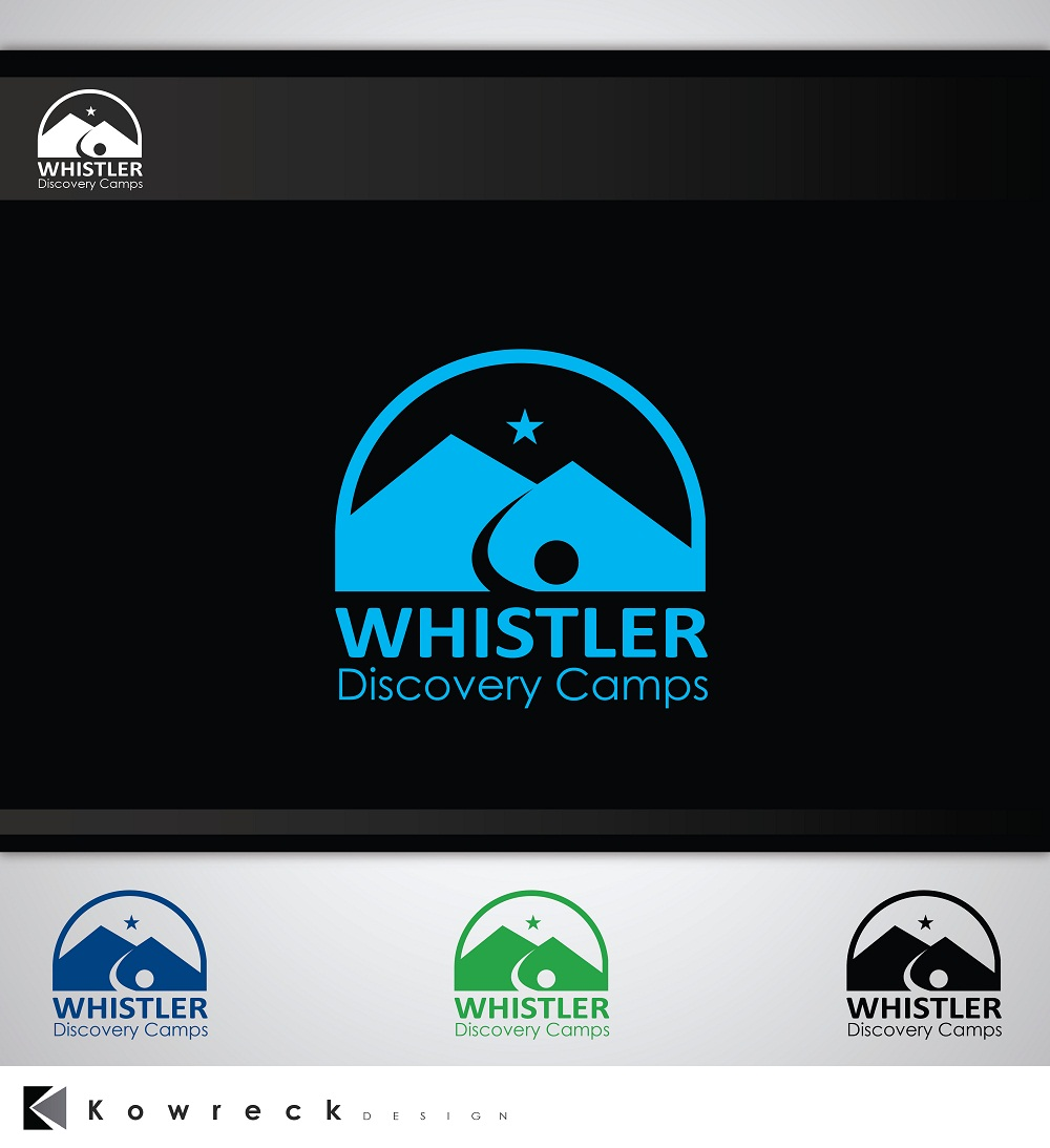 Logo Design by kowreck - Entry No. 62 in the Logo Design Contest Captivating Logo Design for Whistler Discovery Camps.