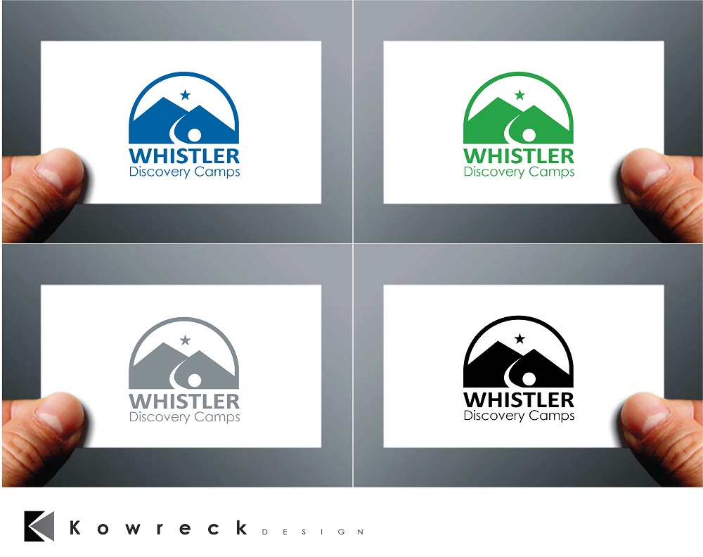 Logo Design by kowreck - Entry No. 63 in the Logo Design Contest Captivating Logo Design for Whistler Discovery Camps.