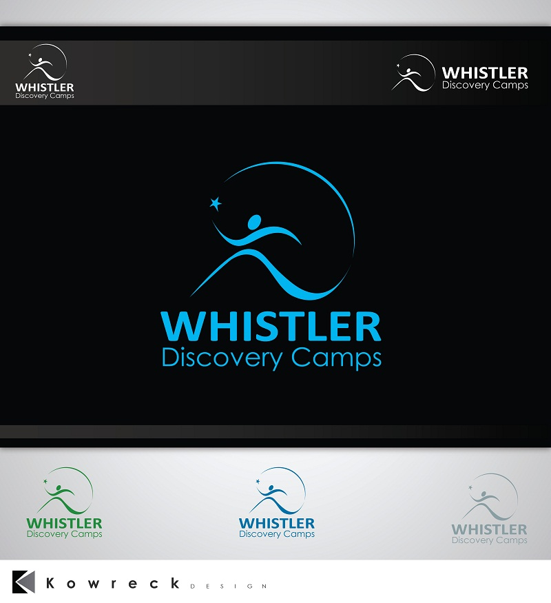 Logo Design by kowreck - Entry No. 69 in the Logo Design Contest Captivating Logo Design for Whistler Discovery Camps.