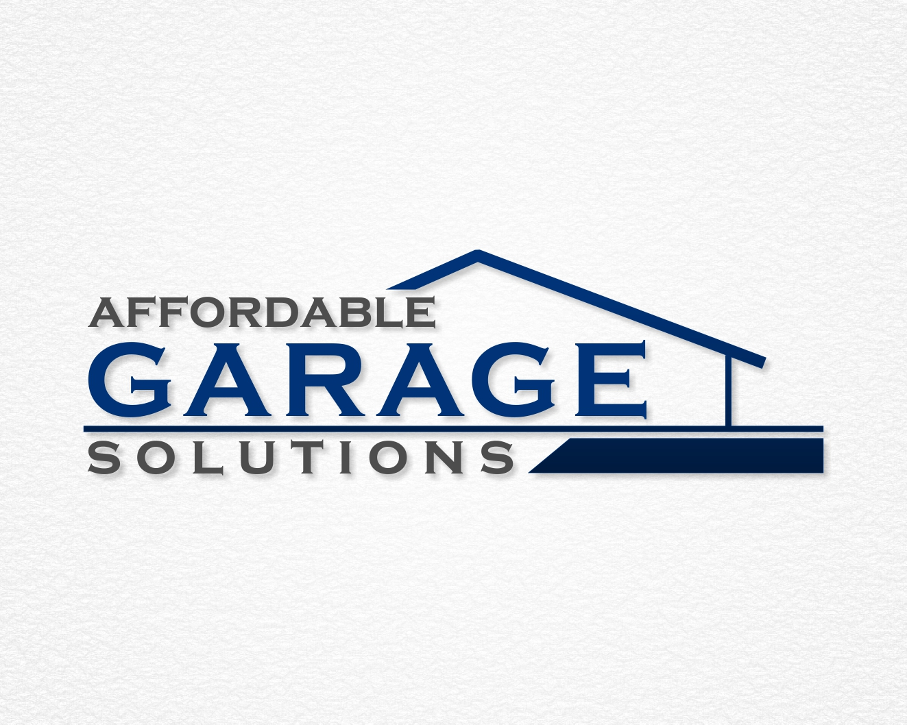 Logo Design by Rares.Andrei - Entry No. 15 in the Logo Design Contest Captivating Logo Design for affordable garage solutions.
