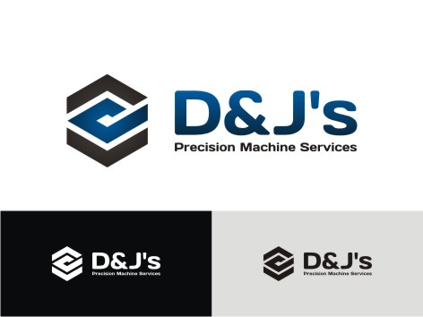 Logo Design by key - Entry No. 53 in the Logo Design Contest Creative Logo Design for D & J's Precision Machine Services.