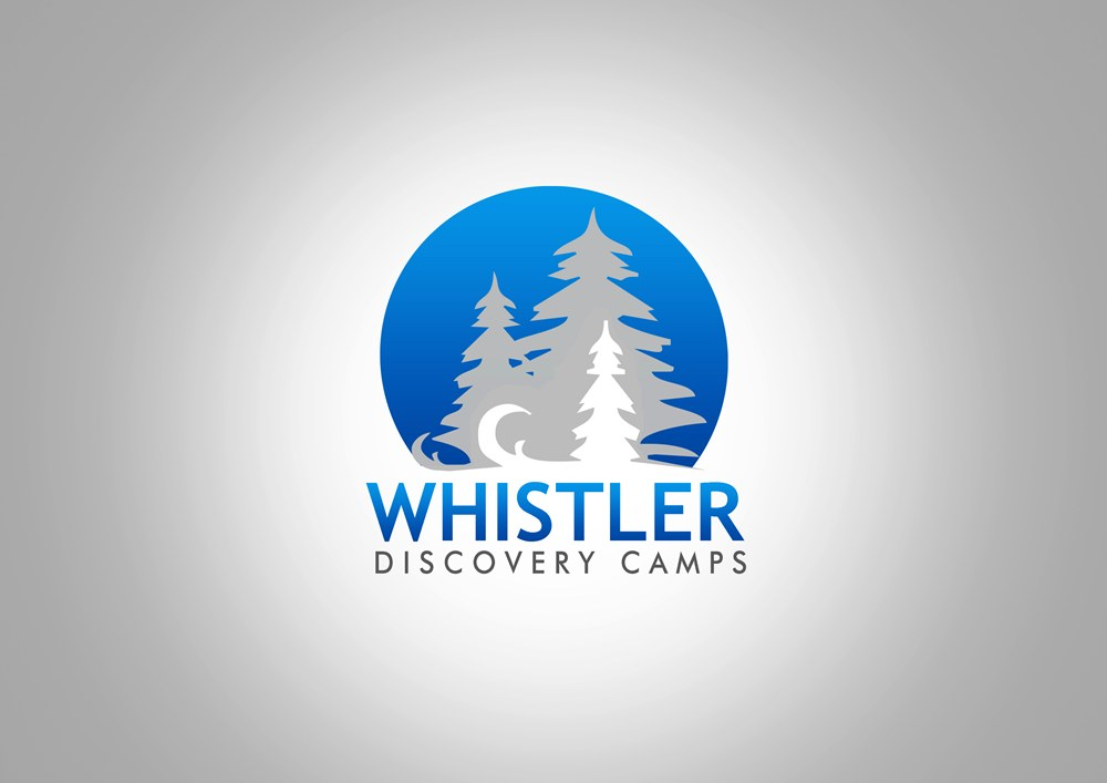 Logo Design by Respati Himawan - Entry No. 78 in the Logo Design Contest Captivating Logo Design for Whistler Discovery Camps.