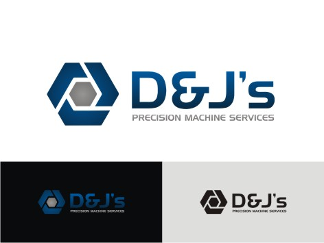 Logo Design by key - Entry No. 54 in the Logo Design Contest Creative Logo Design for D & J's Precision Machine Services.