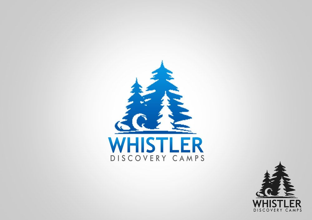 Logo Design by Respati Himawan - Entry No. 79 in the Logo Design Contest Captivating Logo Design for Whistler Discovery Camps.