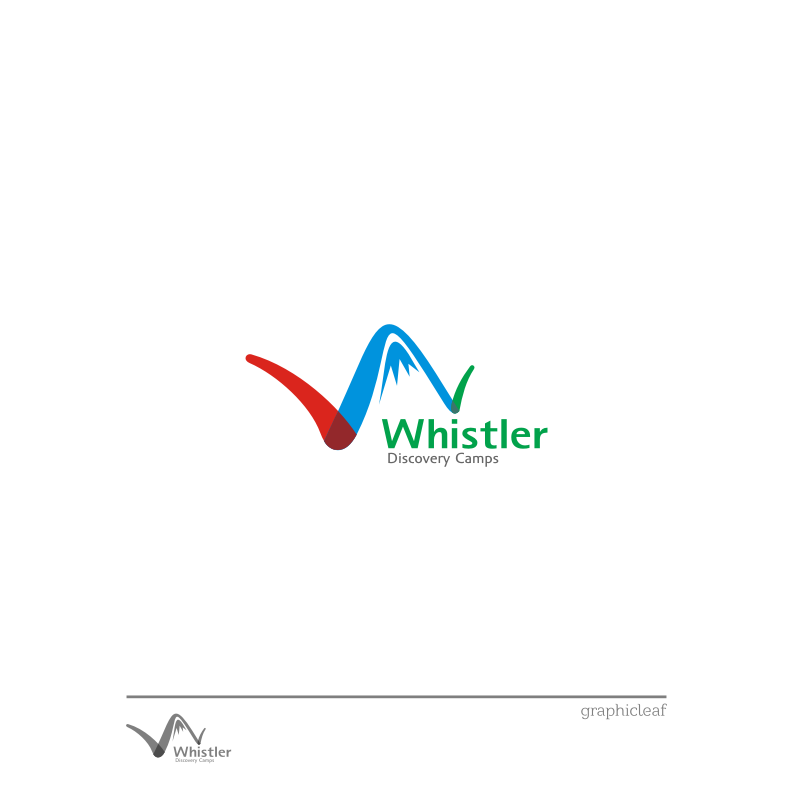 Logo Design by graphicleaf - Entry No. 81 in the Logo Design Contest Captivating Logo Design for Whistler Discovery Camps.