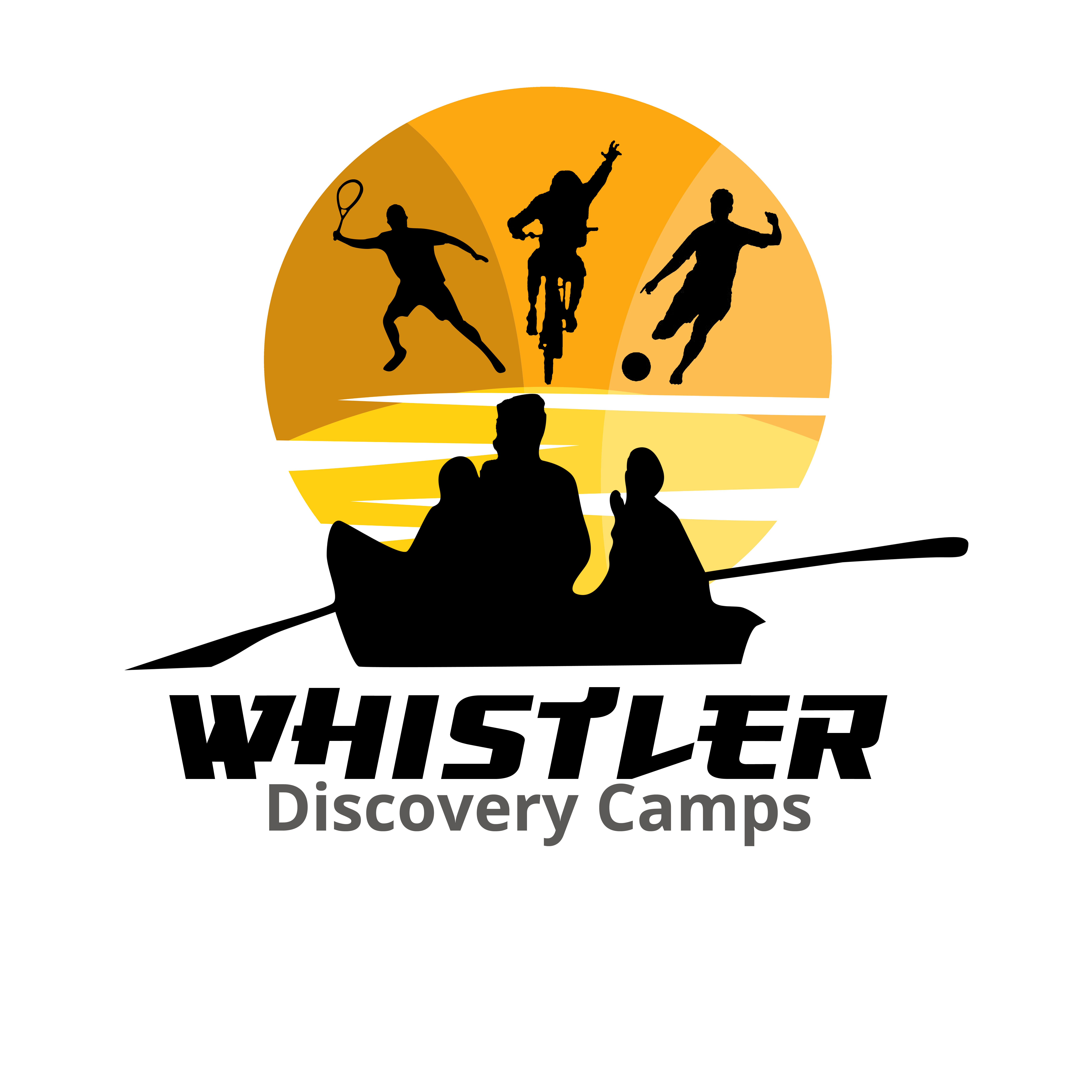 Logo Design by Allan Esclamado - Entry No. 86 in the Logo Design Contest Captivating Logo Design for Whistler Discovery Camps.