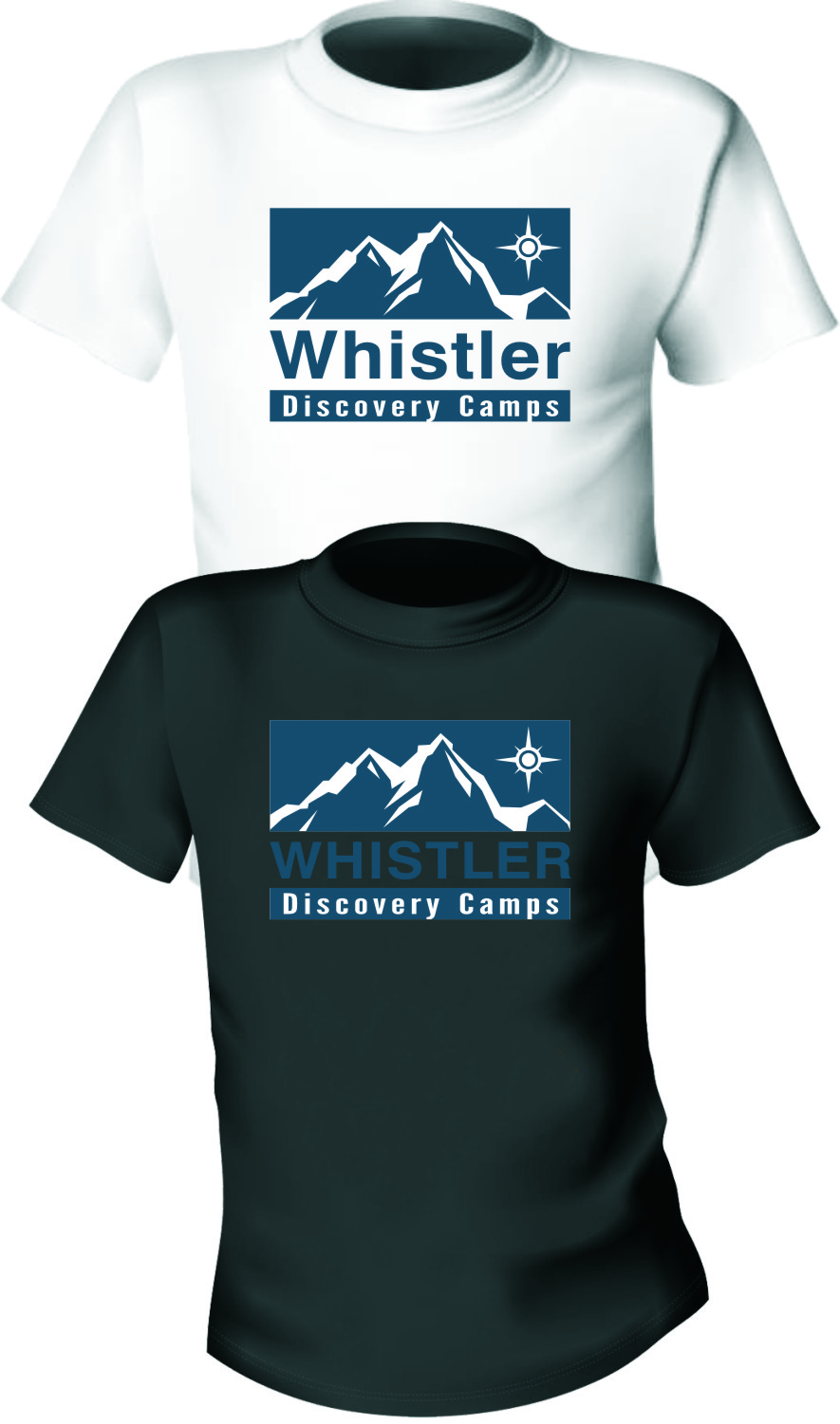 Logo Design by RasYa Muhammad Athaya - Entry No. 87 in the Logo Design Contest Captivating Logo Design for Whistler Discovery Camps.