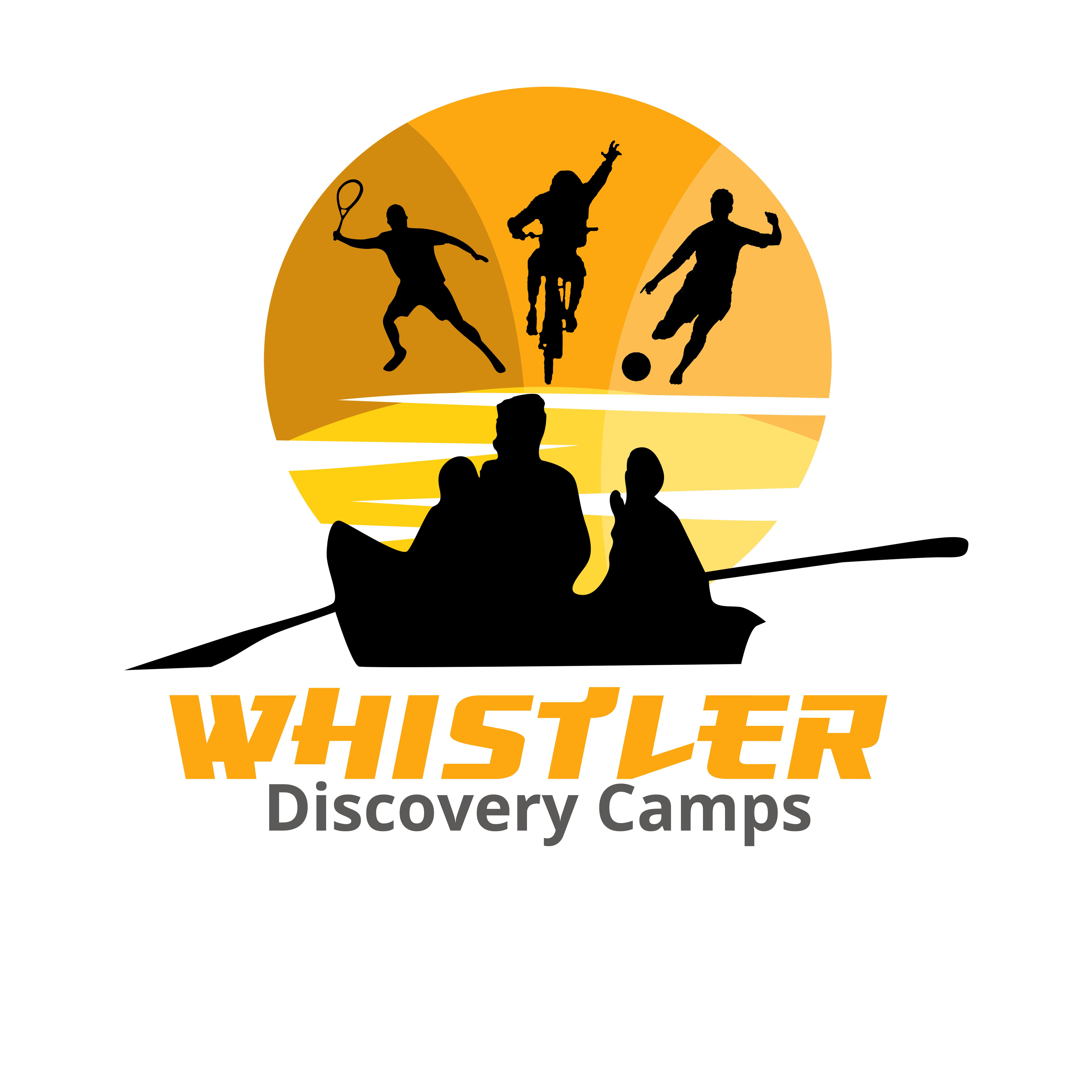 Logo Design by Allan Esclamado - Entry No. 88 in the Logo Design Contest Captivating Logo Design for Whistler Discovery Camps.